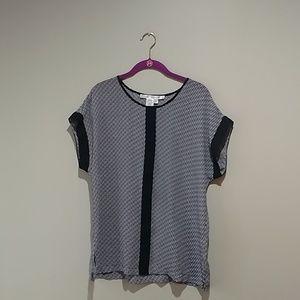♥️max studio black and white top